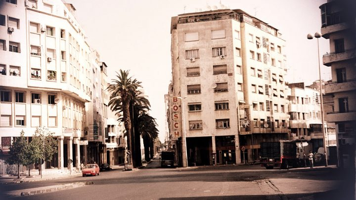 Empty streets of Casablanca