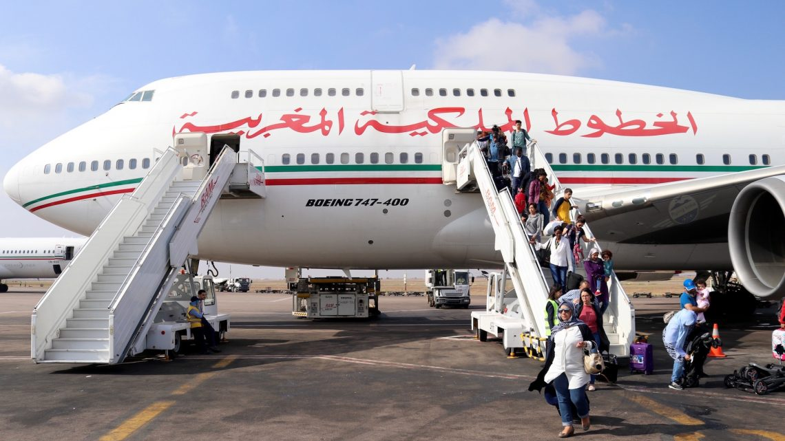 Boeing landed in Morroco