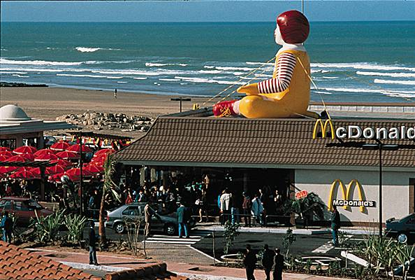 Macdonalds in Casablanca